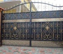 Ворота распашные #008