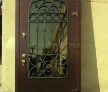 Кованые двери #003