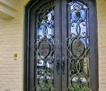 Кованые двери #007