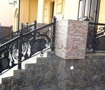 Перила арт.0041 ограждение лестничное/балконное кованое
