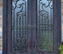 Кованые двери #43