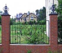 Забор кованый #0006