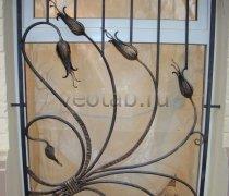 Кованные решетки на окна #5