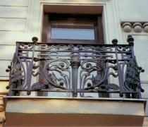 Кованые балконы #44