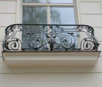 Кованые балконы #0003