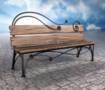 Садовая скамейка #0016