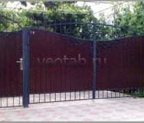 Ворота распашные #009