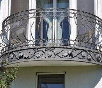 Кованые балконы #0002