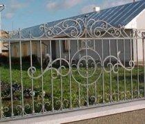 Забор кованый #0040