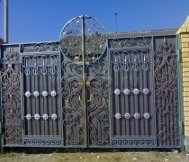 Ворота кованые #073