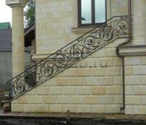 Перила арт.0003 ограждение лестничное/балконное кованое
