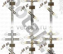 Крест металлический серии #025 (26/127/28/ 29/30)