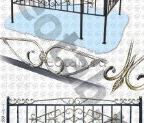 Эксклюзивная Кованная Ограда серии ОК-003