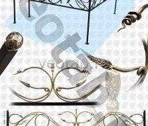 Эксклюзивная Кованная Ограда серии ОК-009