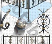 Эксклюзивная Кованная Ограда серии ОК-011