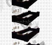 Надгробие металлическое #006 - №6, №7, №8, №9