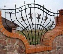 Забор кованый #0041