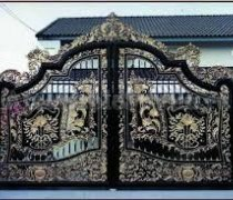 Ворота кованые #070