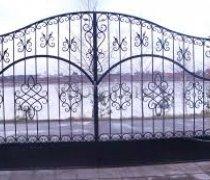 Ворота распашные #015