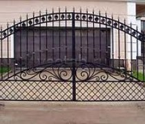 Ворота кованые #072