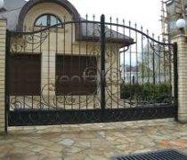 Ворота распашные #016