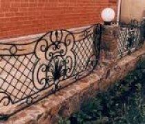Забор кованый #0015