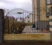 Забор кованый #0016