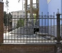 Забор кованый #0128