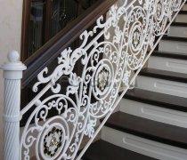 Перила арт.0040 ограждение лестничное/балконное кованое