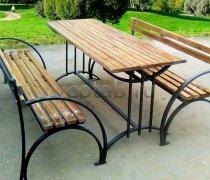 Кованая мебель для дачи #0052