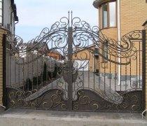 Ворота кованые #41