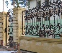 Кованый забор #2