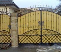 Ворота распашные #023