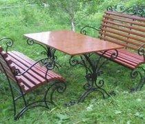Кованая мебель для дачи #0058
