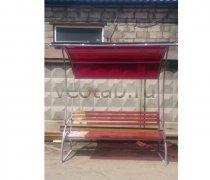 Садовая скамейка #00138 с навесом