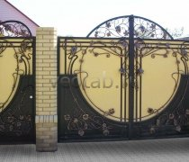 Ворота кованые #043