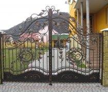 Ворота кованые #8