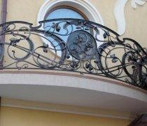 Кованые балконы #4