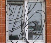 Кованные решетки на окна #72