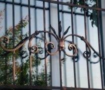 Кованные решетки на окна #7