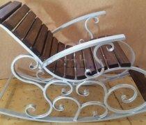 Кованые кресла-качалки #7