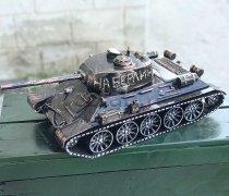 Кованый подарок #057 ( кованный танк Т-34 , мини-бар)
