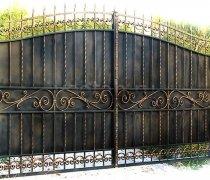 Ворота распашные  #9