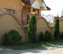 Кованый забор #8