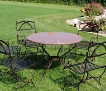 Кованая мебель для дачи #0005