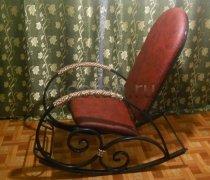 Кованые кресла-качалки #3