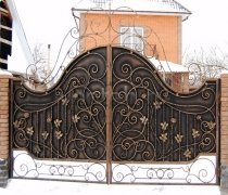 Ворота кованые #002