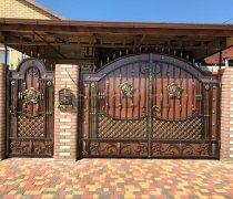 Ворота кованые #063
