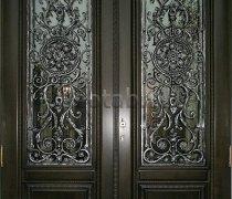Кованые двери #004