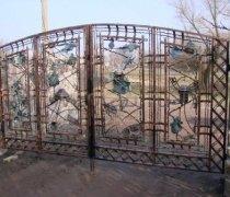 Ворота кованые #5